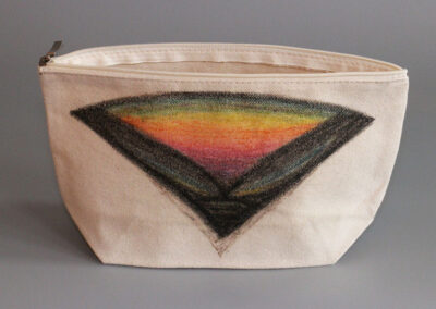 david braunsberg canvas bag art product CB2